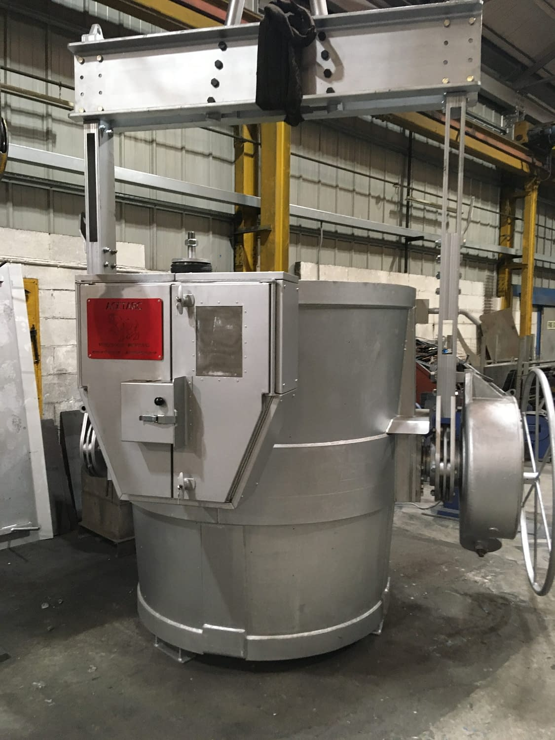 10t ladle Safe-pour (Weir Vulco) 1